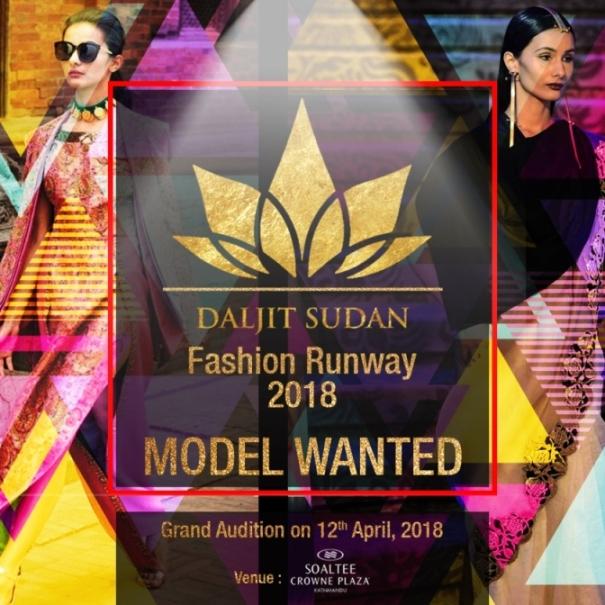 daljit sudan fashion runway